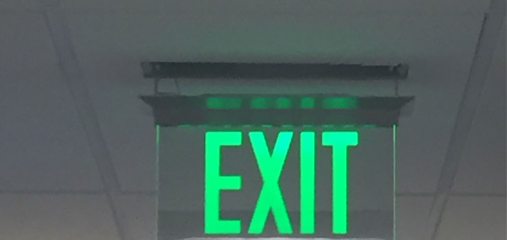 flameproof emergency led exit light